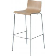Dřevěná barová židle LILA