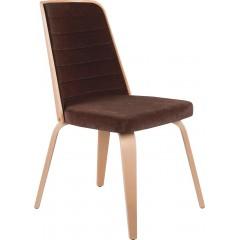 Dřevěná židle PENELOPE P s čalouněním