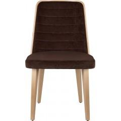 Dřevěná židle PENELOPE WS s čalouněním