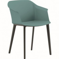 Celoplastová jednací židle AURUM