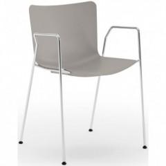 Designová jednací židle POMPEA s područkami