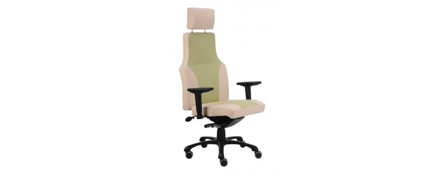 Kancelářské židle a křesla čalouněná