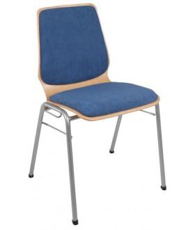Jednací židle KAMILA s čalouněním