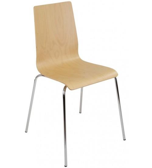 Jednací židle LILLY dřevěná EKO