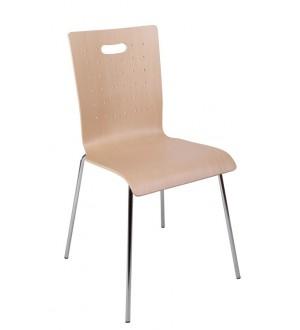 Jednací židle TULIP dřevěná