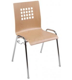 Jednací židle VIOLA dřevěná
