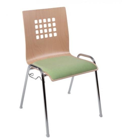 Jednací židle VIOLA  čalouněná