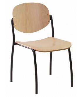 Jednací židle WENDY dřevěná