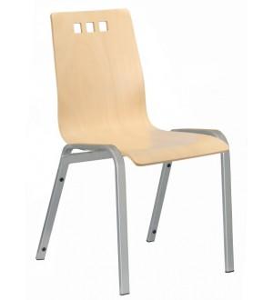 Jednací židle BERNI dřevěná