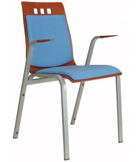 Jednací židle BERNI čalouněná