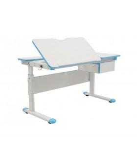 Rostoucí dětský psací stůl FUXO modrý