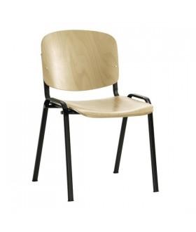Jednací židle IMPERIA dřevěná
