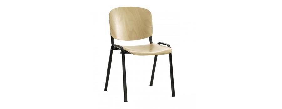 Jednací židle dřevěné