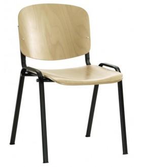 Jednací židle ISO dřevěná