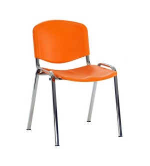 Jednací židle ISO plastová