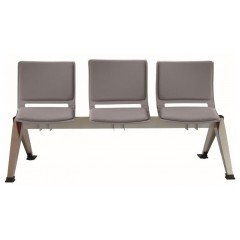 Čalouněná lavice do čekáren FILO - 2-5 sedák - výběr barevného provedení