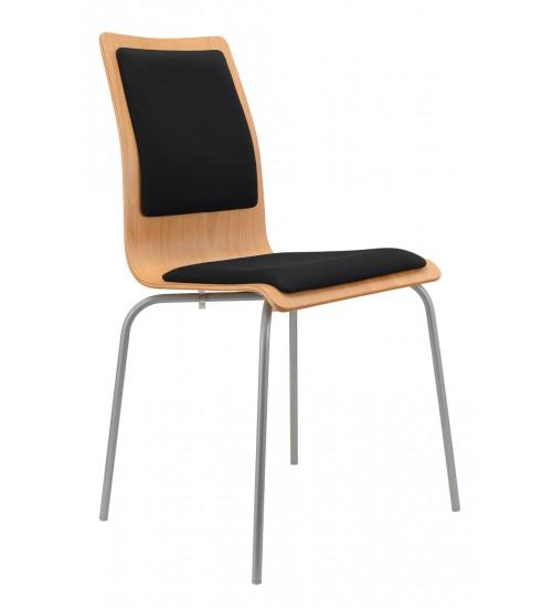 Jednací židle LILLY čalouněná