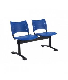 Plastová lavice SMART 2-sedák