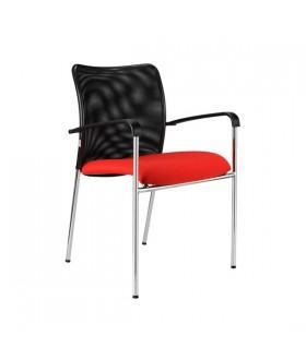 Jednací židle TRINITY s područkami