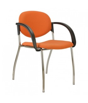 Jednací židle WENDY čalouněná