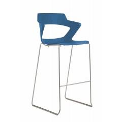 Barová židle AOKI 2160/SB PC - plastová