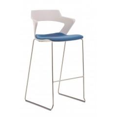 Barová židle AOKI 2160/SB TC - čalouněný sedák