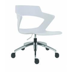 Jednací židle AOKI ALU 2160 PC  - plastová