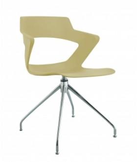 Jednací židle AOKI STYLE 2160 PC - plastová