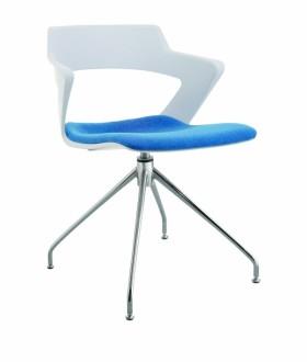 Jednací židle AOKI STYLE - čalouněný sedák