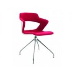 Jednací židle AOKI STYLE - čalouněný sedák+opěrák