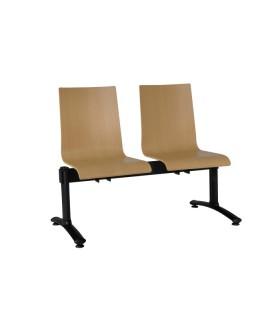 Dřevěná lavice ELSI - 2 místná