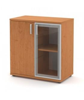 Kancelářská skříň Signe  nízká N- 80-03