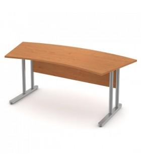 Pracovní stůl Signe zaoblený - ST-02