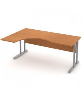 Pracovní stůl  Signe vykrojený - ST-06