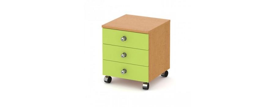 Kontejnery, boxy do dětských pokojů
