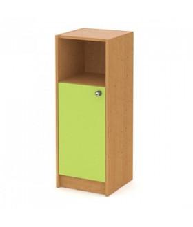 Skříň Kids 1dveřová s nikou levá - výška 107 cm