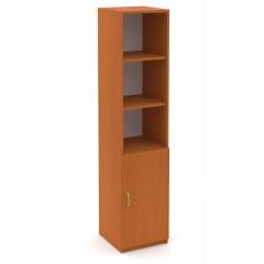 Kancelářský skříň Economics  kombinovaná  pravá - výška 180 cm - CC159