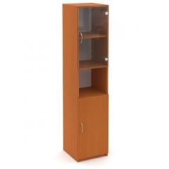 Kancelářský skříň Economics  prosklená pravá - výška 180 cm - CC161