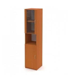 Kancelářský skříň Economics  prosklená levá - výška 180 cm