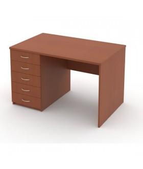 Kancelářský stůl Economics se zásuvkami levý  120x75cm