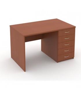 Kancelářský stůl Economics se zásuvkami pravý  120x75cm
