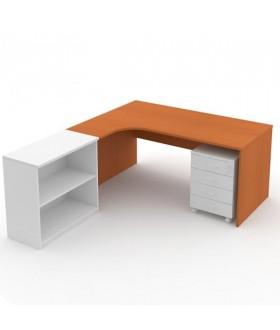 Kancelářský stůl Economics rohový levý 180x120 cm