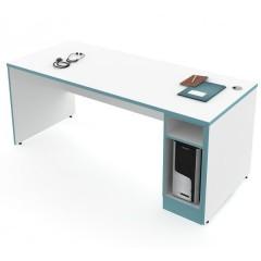Lékařský pracovní stůl s boxem na PC ST-02 - pravý