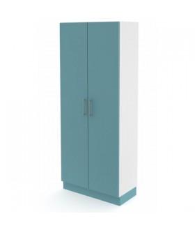 Skříň vysoká s dveřmi V 80-02 - výška 195 cm