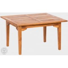 Rozkládací teakový  zahradní stůl  LEGANTE 11002 - 120x200-300 cm