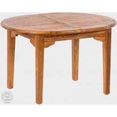 Rozkládací teakový  zahradní stůl  LEGANTE 11001 - 120x200-300 cm