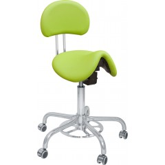 Otočná ordinační židle s nožním ovládáním CLINIC FLP
