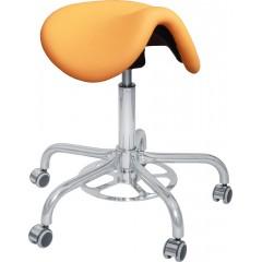 Otočná ordinační židle s nožním ovládáním CLINIC FP