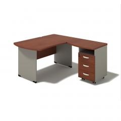 Kancelářský stůl Berlin 140x160x74 cm - B171