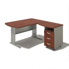 Kancelářský stůl Berlin 140x160x74 cm - B172